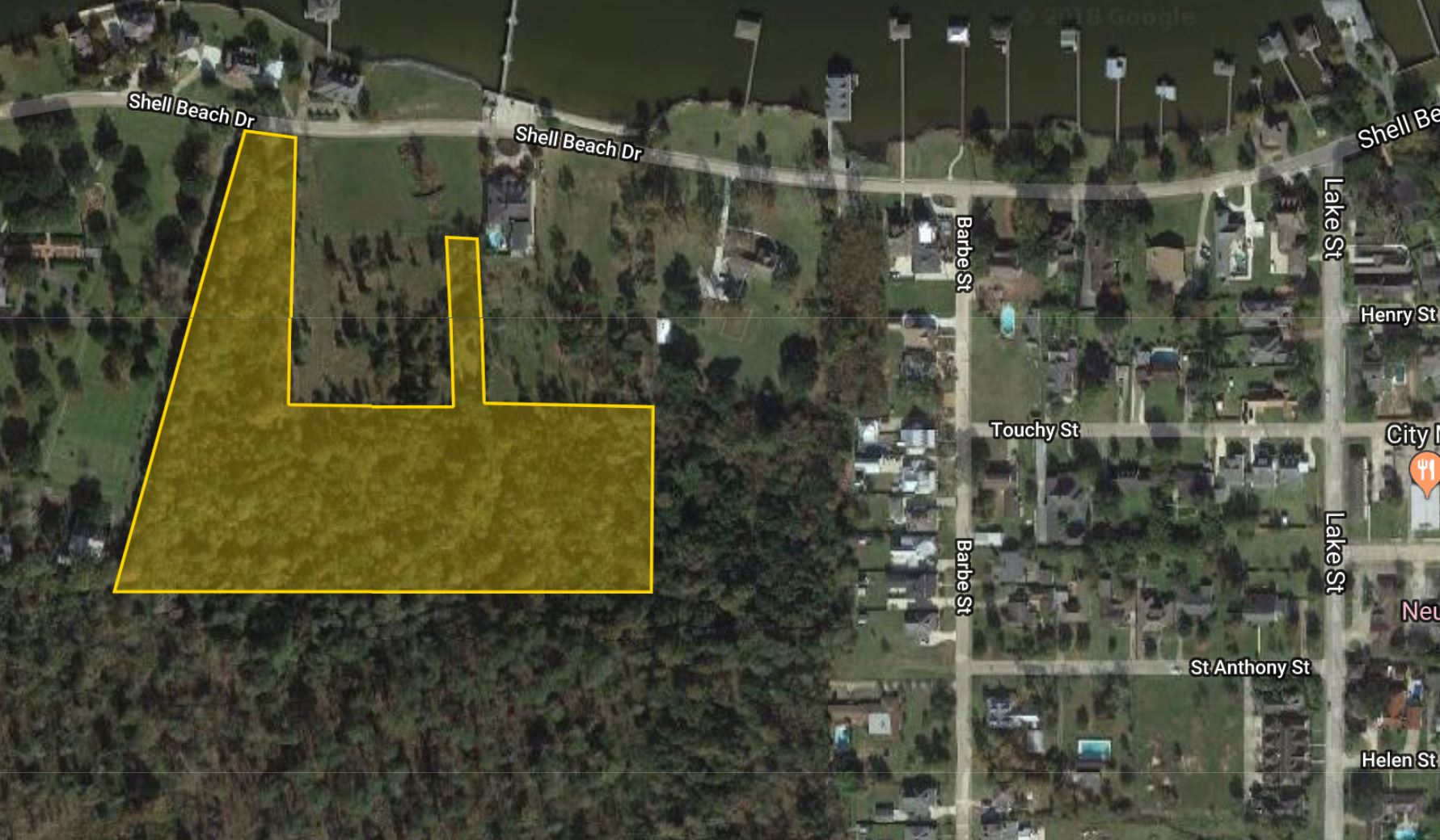 10 Acres available off Shell Beach Drive