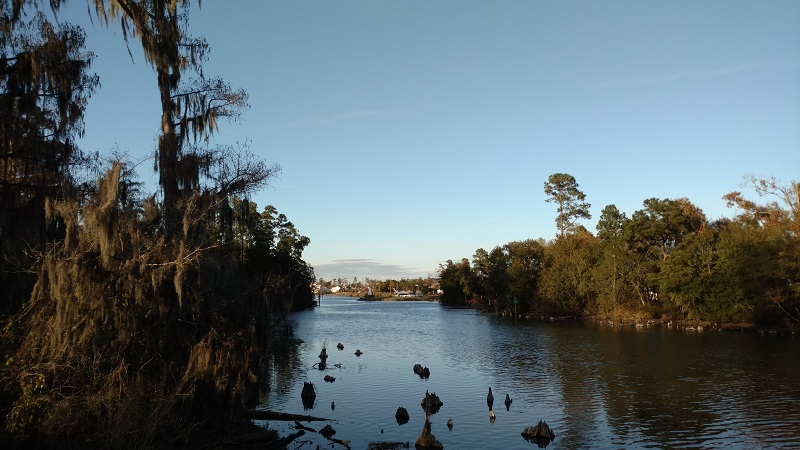 View of Contraband Bayou from Contraband Pointe